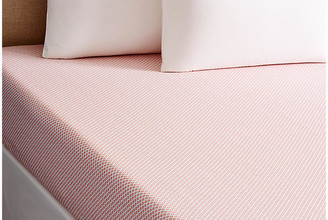 Peacock Alley Emma Fitted Sheet - Coral King