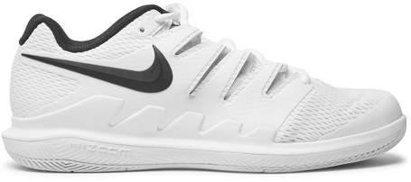 Nike Tennis - Air Zoom Vapor X Rubber And Mesh Tennis Sneakers - White