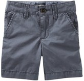 Osh Kosh Boys 4-8 Grey Flat-Front Shorts
