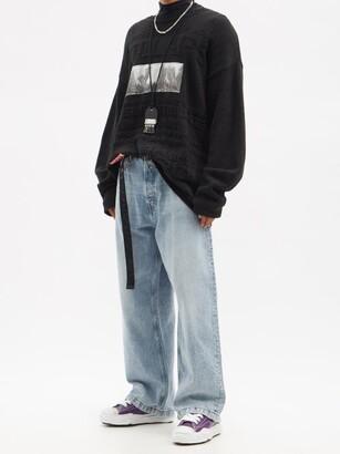 Miharayasuhiro Mihara Yasuhiro - Hank Original Sole Leather Trainers - Purple