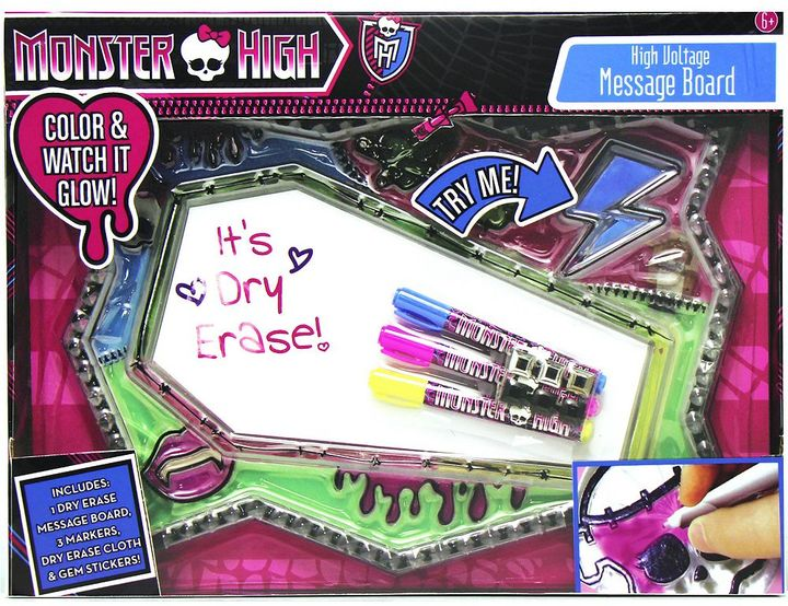 Monster High High Voltage Message Board