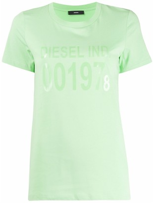 Diesel short sleeve logo T-shirt
