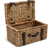 Marks and Spencer Water Hyacinth Suitcase Storage Box