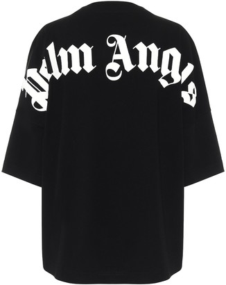 Palm Angels Logo oversized cotton T-shirt