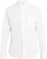 Ami Summer-fit cotton-poplin shirt