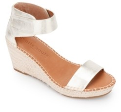 Gentle Souls by Kenneth Cole Charli Ankle Strap Wedge Sandals Women's Shoes