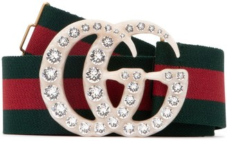 Gucci GG Buckle Embellished Belt