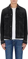 J Brand Men's Alkaid Trucker Jacket-BLACK