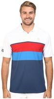 adidas CLIMACOOL® USA Engineered Stripe Polo