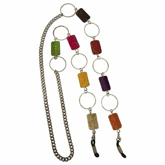 Eyewearstraps NEW Multicoloured & Silver Beaded Glasses Sunglasses Chunky Chain Strap Cord Holder
