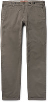 Barena - Slim-fit Stretch-cotton Twill Trousers
