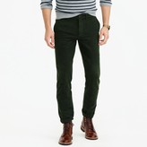 J.Crew Brushed cotton twill pant in 770 straight fit