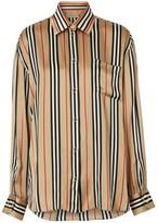Burberry Icon Stripe Silk Shirt