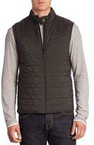 Z Zegna Sleeveless Front Zipper Jacket