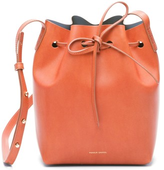 Mansur Gavriel Brandy Mini Bucket Bag - Avion