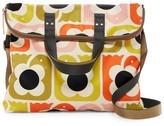 Orla Kiely Love Birds Print Foldover Shoulder Bag