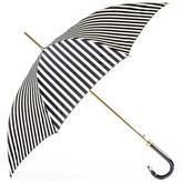 Black and White Striped Italian Luxury Umbrella