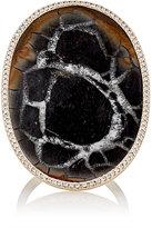 Monique Péan Women's White Diamond & Septarian Ring