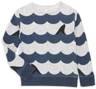 Appaman Little Boy's & Boy's Wavy Stripe Sweatshirt