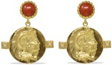 Vintouch Italy Achilles Coral Earrings
