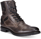 Bar III Men's Trey Cap Toe Utility Boots, Only at Macy's