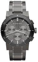 Burberry BU9381 42mm Steel Bracelet & Case Anti-Reflective Sapphire Men's Watch