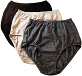 Olga Women's 3 Pack Without A Stitch Brief
