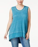 Melissa McCarthy Plus Size High-Low Tank Top