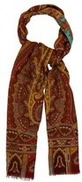 Etro Silk & Wool Paisley Scarf