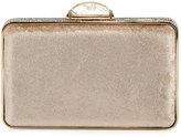 Judith Leiber Couture Etoile Velvet Box Clutch Bag, Champagne