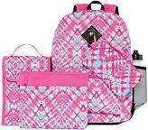 Asstd National Brand 6PC Pink Tie Dye Backpack Set