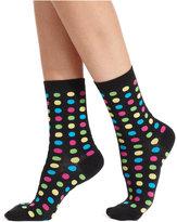 Hot Sox Women's Fun Dot Trouser Socks
