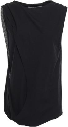 Chalayan Layered Cotton-jersey Top