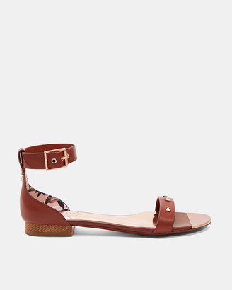 Ted Baker OVEY Studded bow leather sandals
