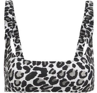 Fisch Colombier Leopard-print Bikini Top - Womens - Leopard