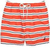 Nautica Horizontal Stripe Swim Trunk