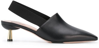 Bally pointed mules
