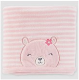 Just One You made by carter Baby Girls' Valboa Bear Blanket - Just One You Made by Carter's® Pink