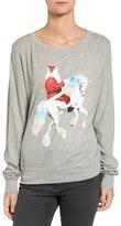 Wildfox Couture Unicorn Sleigh Tee