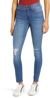 Madewell High Waist Ankle Skinny Jeans