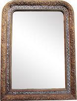 One Kings Lane Vintage French Silver & Gilt Mirror