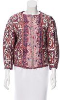 Isabel Marant Printed Silk Jacket