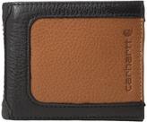 Carhartt Black & Tan Billfold Wallet