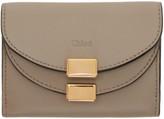 Chloé Grey Mini Georgia Wallet