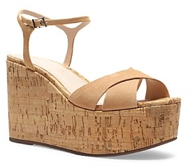 Schutz Women's Bellina Wedge Platform Sandals