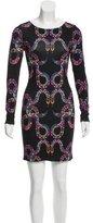 Mara Hoffman Snake Print Bodycon Dress