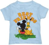 """Disney Disney's Mickey Mouse & Pluto """"Best Friends"""" Toddler Boy Graphic Tee"""