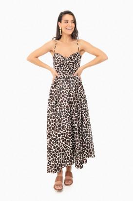 Cara Cara Animal Brown Maidstone Dress