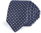 BOSS Alternating Diamond Skinny Tie