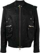 Balmain zip-up jacket - men - Cupro - S